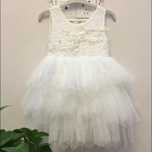 🍦4 for $12🍦Lace Tutu Dress with Beautiful Back